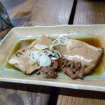 大衆酒場 斎藤 - 肉豆腐 320円