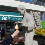 Cafe金次郎 - 料理写真:食べますかぁ???