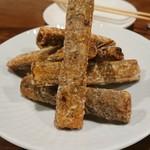 チムウォック - ごぼうの八角風味唐揚げ