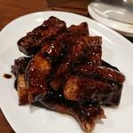 チムウォック - 穴子と長芋の黒酢炒め