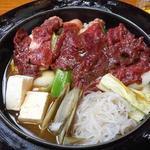 柿島屋 - 肉鍋(並)1250円