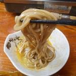 柿島屋 - そばたまも生卵につけて食べました♪