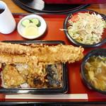 福本 - 穴子天丼¥1180-