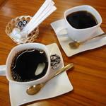 福本 - サービスのコーヒー