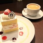 nino - ケーキとコーヒーがよく合います