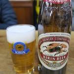 山田屋 - ビール大瓶 500円