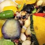 サラダデリMARGO - GRILL野菜のアップ
