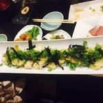 なべ屋 たいたん - 牡蠣の天ぷら