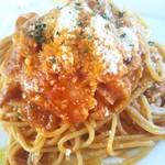 ペティトマト - 料理写真:アマトリチャーナ