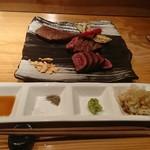 81121602 - 熟成赤身肉、サーロイン、シャトーブリアンの盛り合わせ