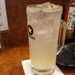 81121984 - 生レモンサワー450円