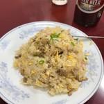 喜久 - 本当に美味い半チャーハン
