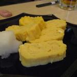 魚直 - 出汁巻き(焼きたて)