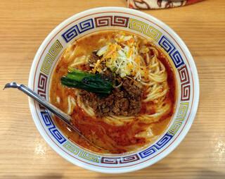 ほっこり中華そば もつけ - 担々麺