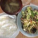 81126033 - ネージャンさんの野菜炒め定食                       香ばしくて美味しいとの事です。