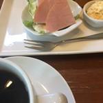 もっさんのcafe - 料理写真:ドリンク代のみのモーニング(2018.02現在)