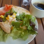 バルケッタ - サラダと珈琲