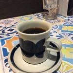 喫茶ムムム - ガテマラをエアロプレスで