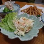 四ツ木製麺所 - マカロニサラダ
