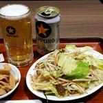 麺処 直久 - ちょい呑みセット:790円