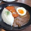 肉の万世 - 料理写真:かつカレー¥1380+目玉焼き¥120