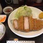 81133378 - ロースかつ定食(150g)