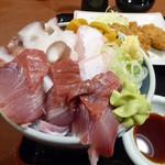 そうま - 直送魚を使った丼_2018-02-11
