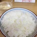 味億 - 甘い美味しいごはん(中130円)