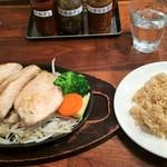 筋肉食堂 - 胸肉ステーキと玄米