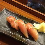 81137455 - 島寿司3カン350円(マンボー)