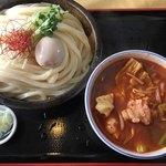 81138214 - 牛ホルモンつけ麺(超辛)