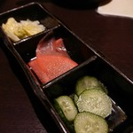 和&ヴィラリゾート個室 美食ダイニング 四季舞 - ◆彩り自家製お漬物とピクルスの盛り合わせ