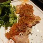 和&ヴィラリゾート個室 美食ダイニング 四季舞 - ◆北海道産 熟成鶏もも肉のGRILLステーキ 冬大根みぞれと香味野菜のお醤油ソース