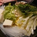 和&ヴィラリゾート個室 美食ダイニング 四季舞 - ◆本日のオススメ四季野菜と旬の地物茸のしゃぶしゃぶ盛り合わせ