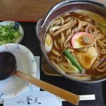めん処釜文 - 料理写真:味噌煮込みうどん(税込920円)