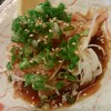 なおき屋 - 料理写真:さつま種鶏のたたき 580円
