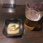 居酒屋さばお - 生ビールとお通し
