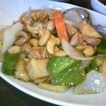唐庄酒家  - 鶏肉とカシューナッツ炒め