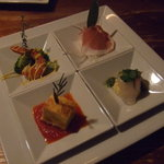 vessone - 2,800円ディナーコース。前菜☆