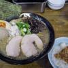 中華蕎麦 丸め - 料理写真:背脂煮干し味玉ラーメン