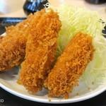 tonkatsuhamaya - カキフライ180円2個