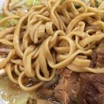 81141204 - 「小ラーメン」(750円)麺アップ