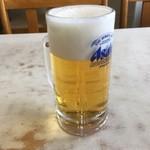 橋野食堂 - 生ビール570円