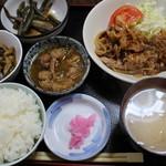新潟 - 焼肉定食(750円)