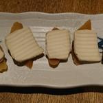東岡崎魚酒場 どぉーん - クリームチーズがっこ