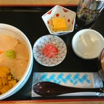 女川海の膳ニューこのり - 特選三色丼