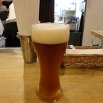 さかづき Brewing - 夕霧ヴァイツェンボック650円