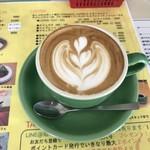 カフェ チャレンジャー 88 - ラテアート♬