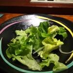 鉄板焼 裕 - サラダ