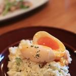 スプリング バレー ブルワリー - イブリガッコのポテトサラダ 半熟卵載せ